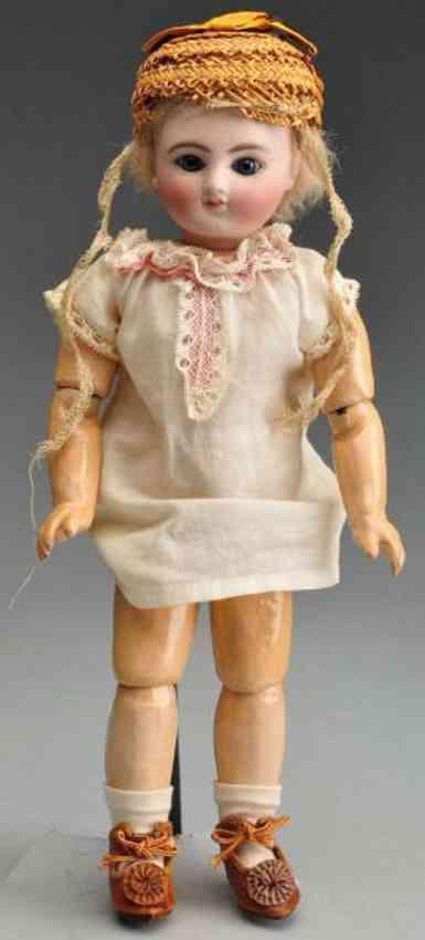 Steiner Jules Nicholas A 2/0 Bisque socket head doll