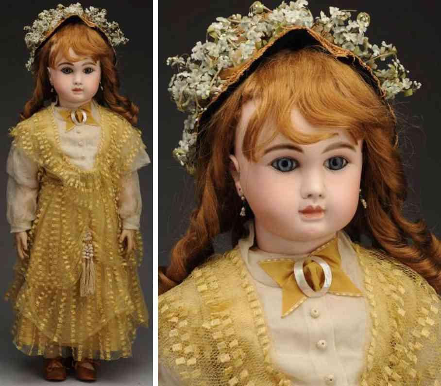 steiner jules nicholas a 20 bisque socket head baby bebe doll
