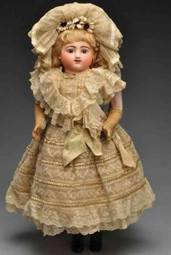 Steiner Jules Nicholas Baby Bisque head Bébé Gigoteur doll