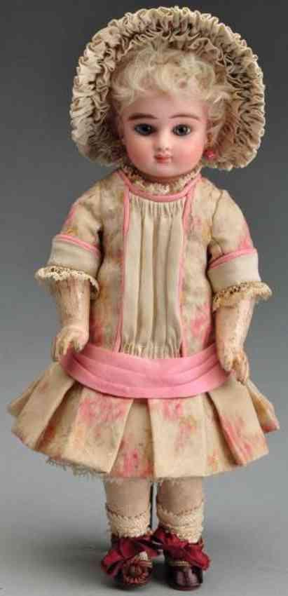 steiner jules nicholas c 3/0 bisque socket head doll