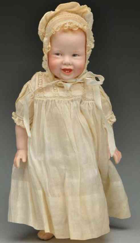 Thompson Martha Bisque smiling baby doll