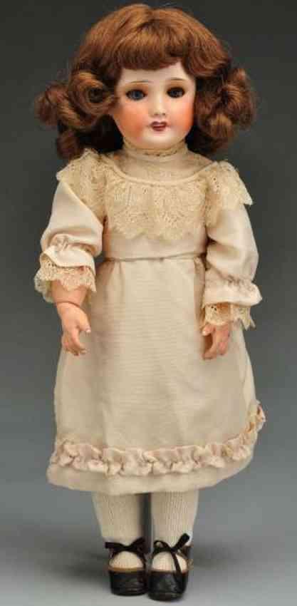UNIS FRANCE 301 Bisque socket head child doll