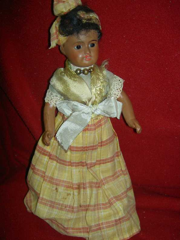 UNIS FRANCE 60 Dolls French Creole socket head doll