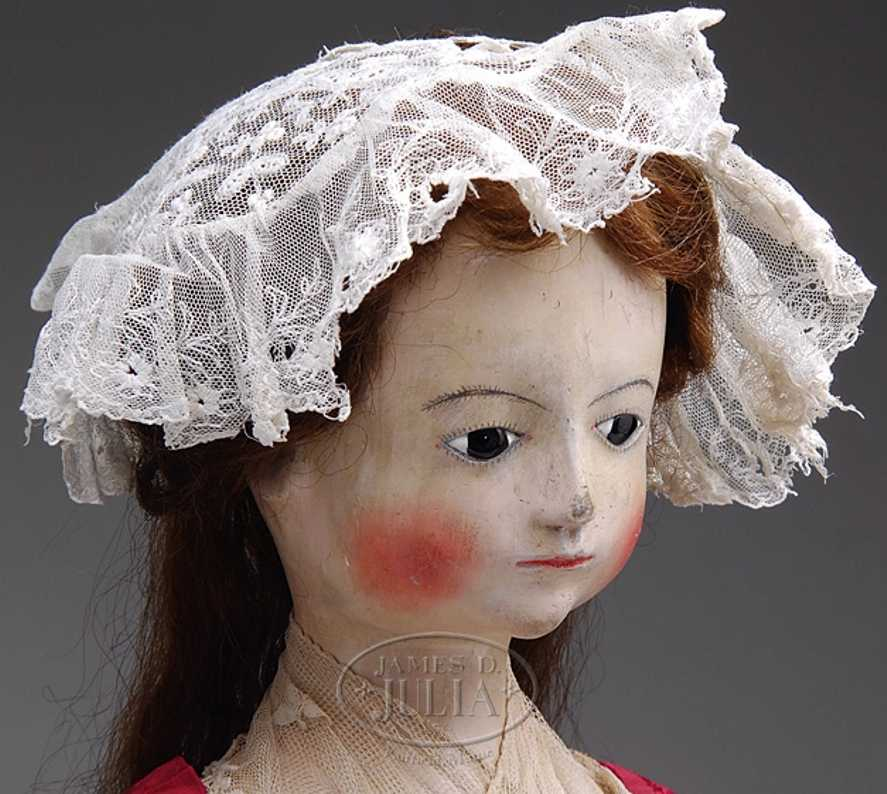 English Wooden lady doll