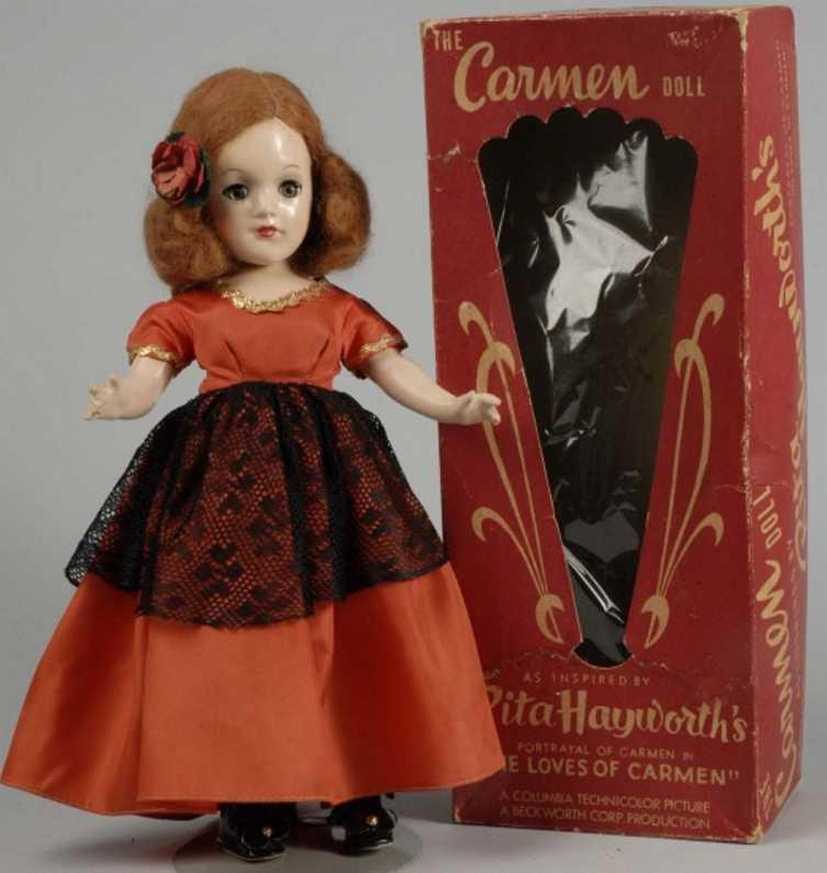 Uneeda doll company Carmen Doll