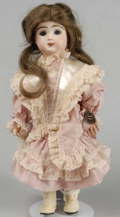 Rouillet & Decamps A 7-8 Bisque mechanical doll