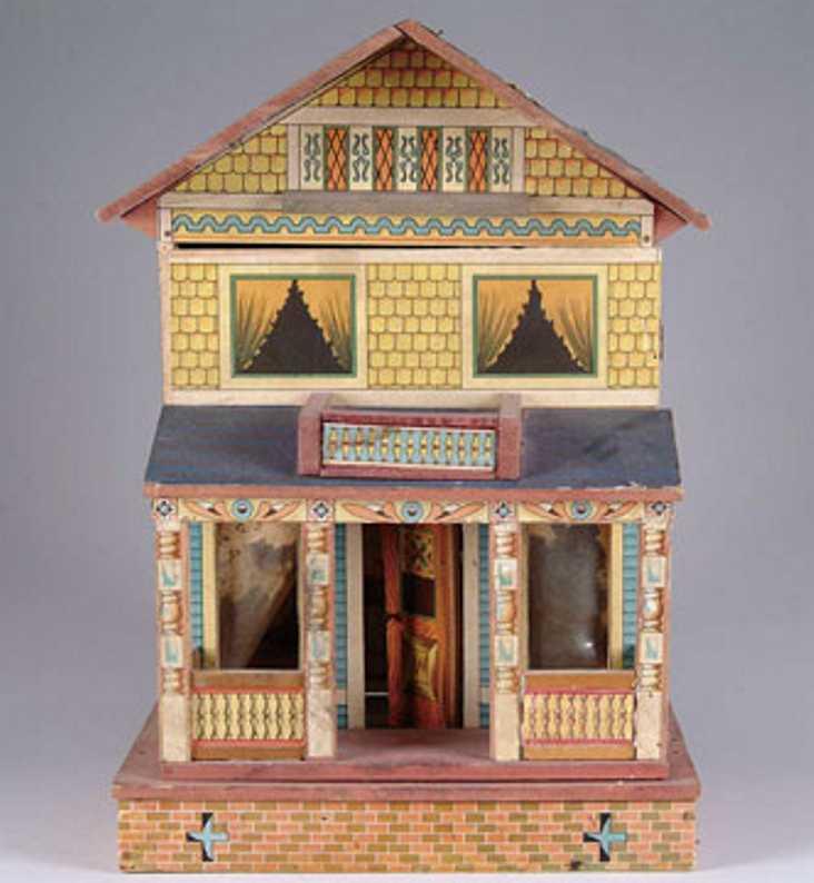 bliss rufus puppenhaus mit zwei etagen