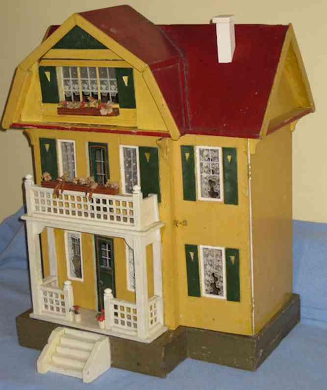 gottschalk moritz puppenhaus haus mit rotem dach
