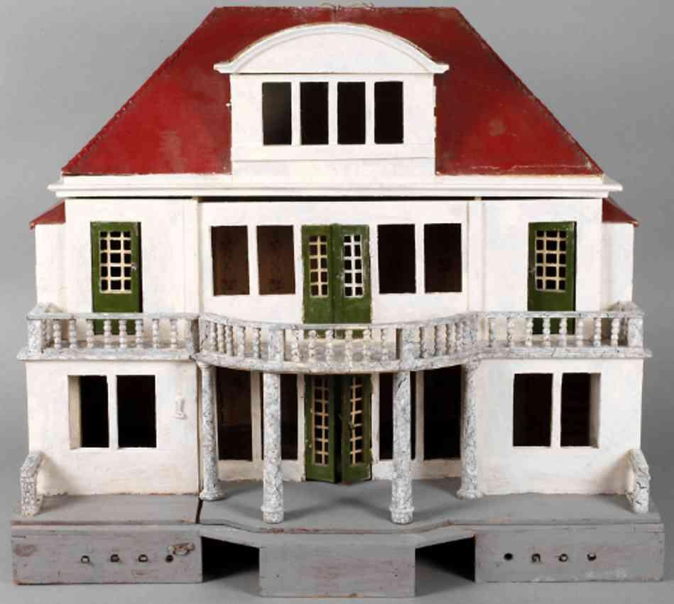 gottschalk moritz puppenhaus als villa acht raeume