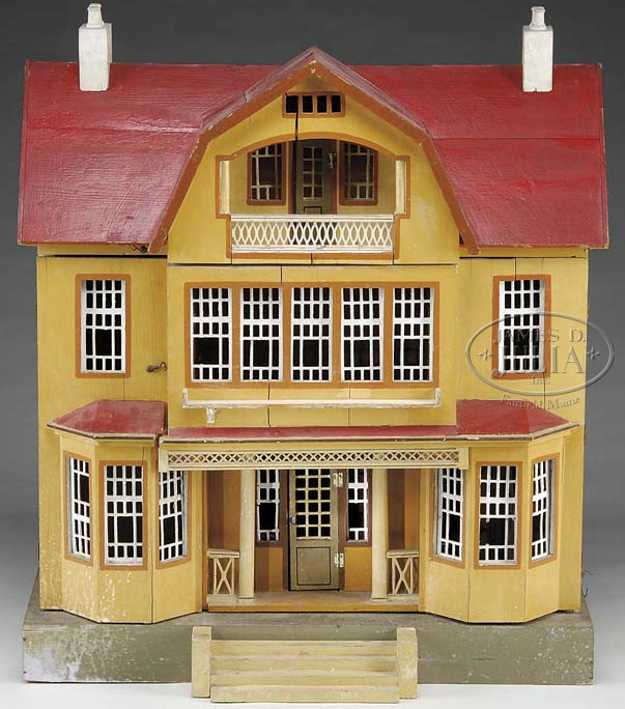 gottschalk moritz red roof doll house