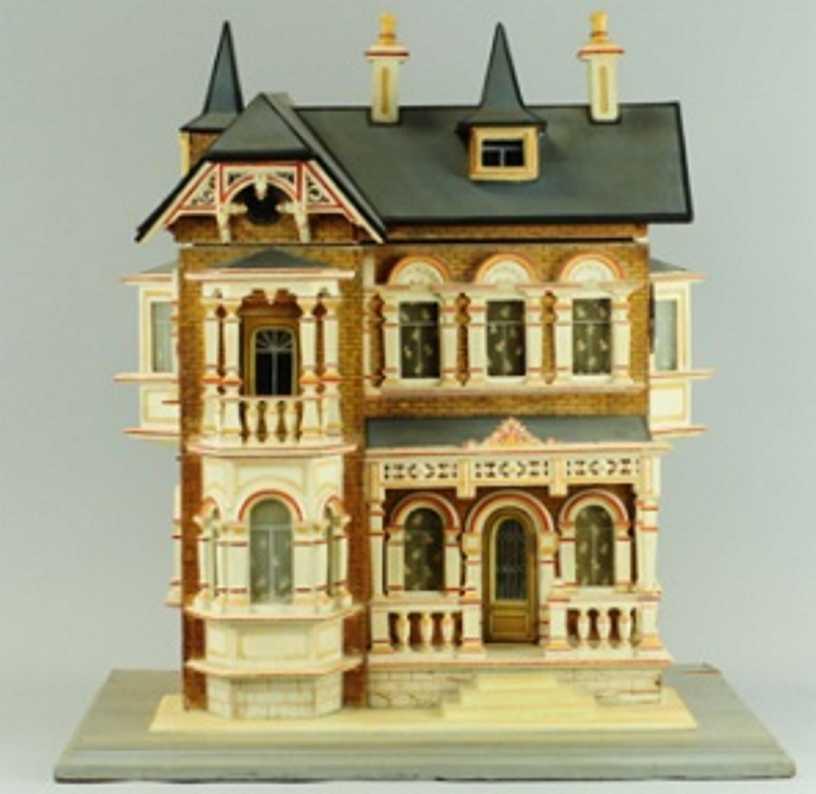 gottschalk moritz puppenhaus haus im viktorianischem stil