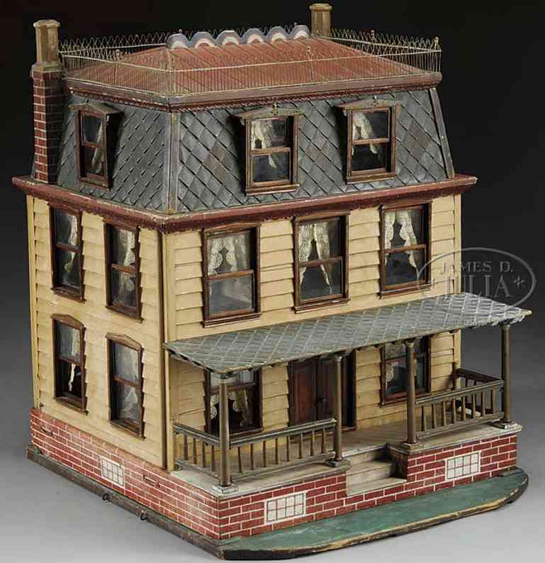 heston higgenbothom doll house doll house that is actually a replica of a south new jersey
