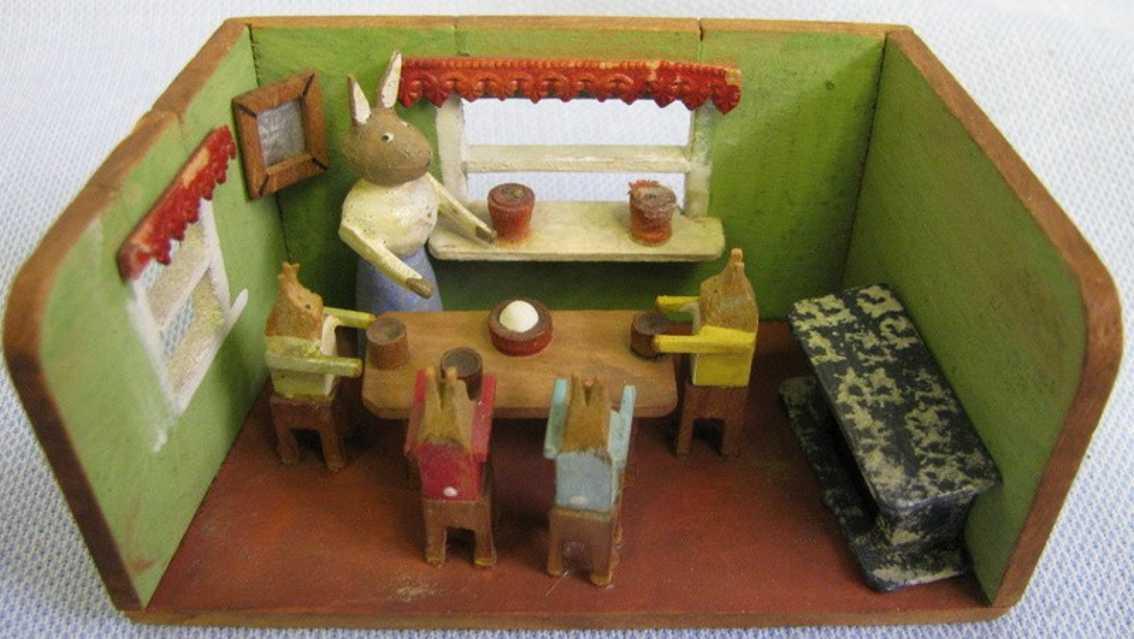 Miniatur Esszimmer