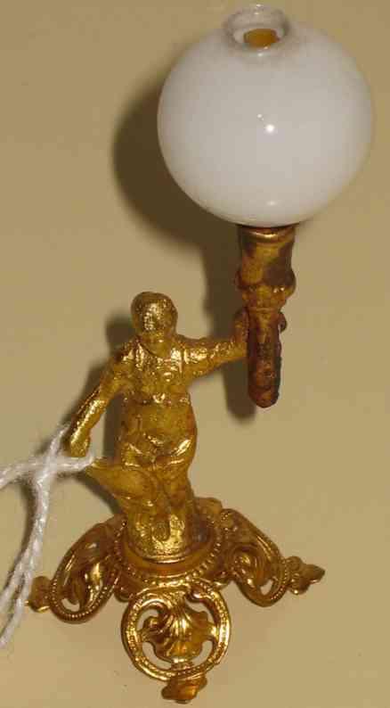 erhard & sohne puppenstubenzubehoer lampe