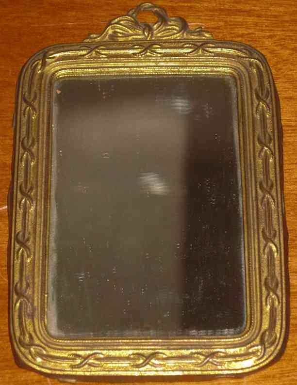 erhard & sohne puppenstubenzubehoer spiegel