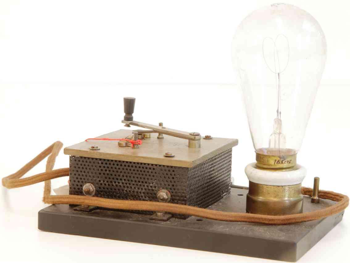 bing 12/290/1 railway toy lamp ballast resistor with regulation
