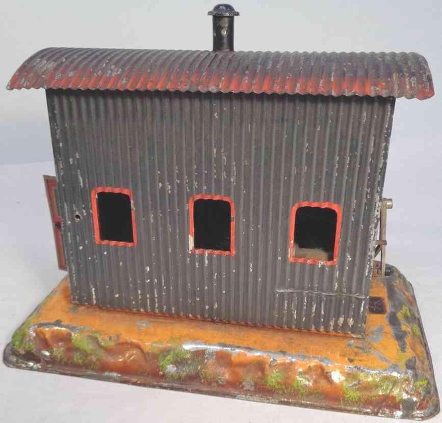 bing railway toy transformer power station control shed