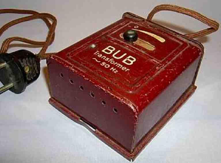 karl bub 1943/220 spielzeug eisenbahn transformator spur 0/1