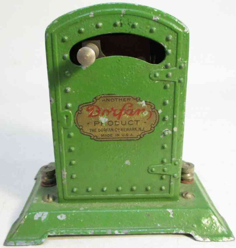 dorfan 446 railway toy circuit breaker made of diecast green