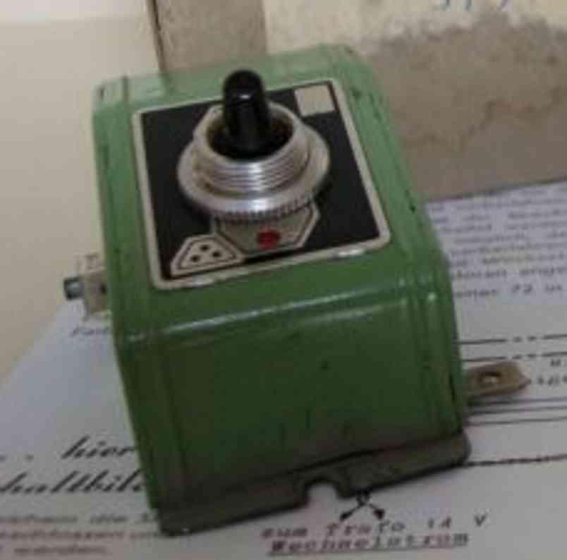 fleischmann 515 spielzeug eisenbahn wechselschalter für lichtwechsel