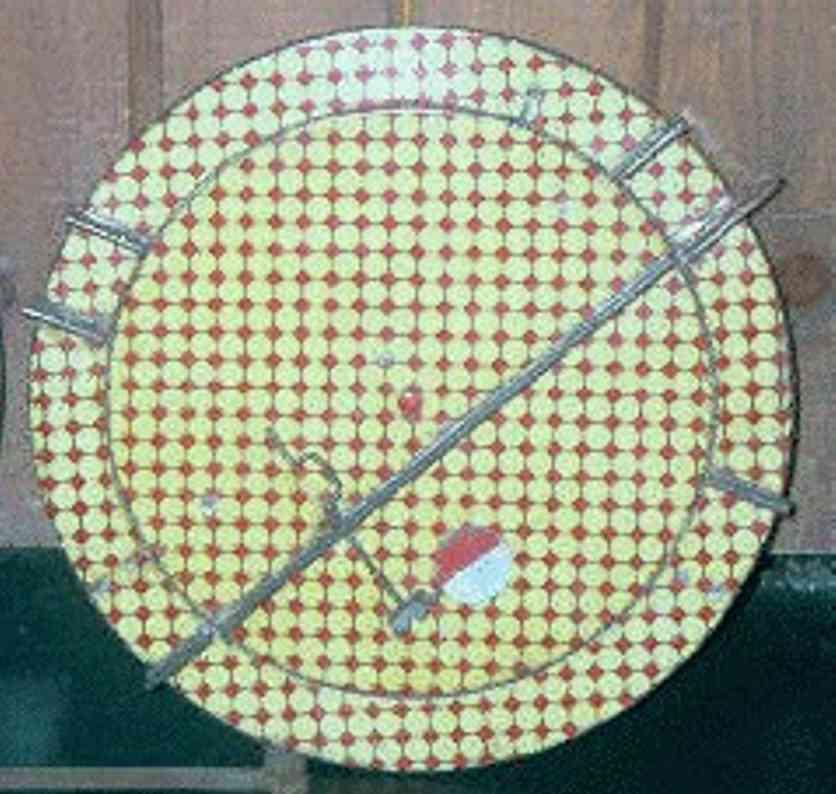 ives 145 (1906) spielzeug eisenbahn schiene strom drehscheibe für handbetrieb