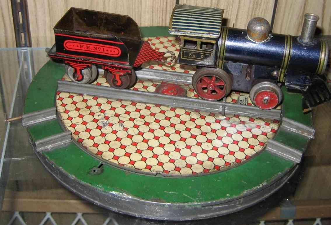 ives 146 1908 eisenbahn drehscheibe mit mechanik