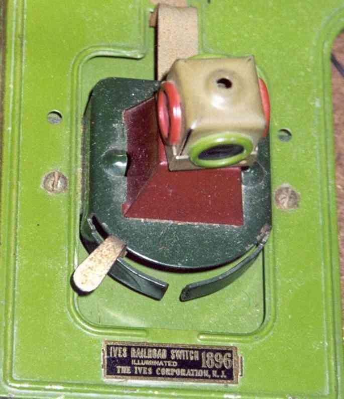 ives 1896 spielzeug eisenbahn schiene strom manueller schalter wurde von lionel hergestellt