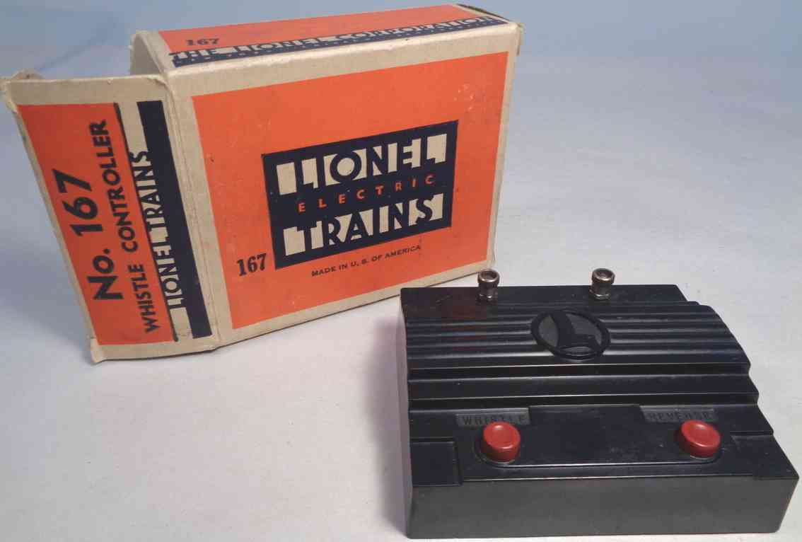 lionel 167 railway toy whistle controller