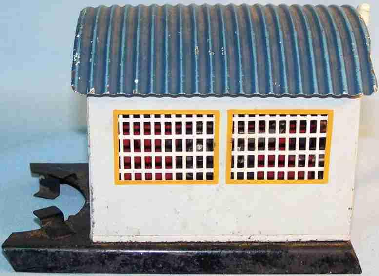 maerklin 13295 G spielzeug eisenbahn trafo motorenhaus handlackiert für drehscheibe mit motor, graue wä