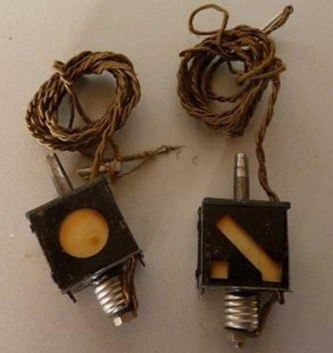 maerklin 13488 g/1 2 elektrische weichenlaternen spur 1