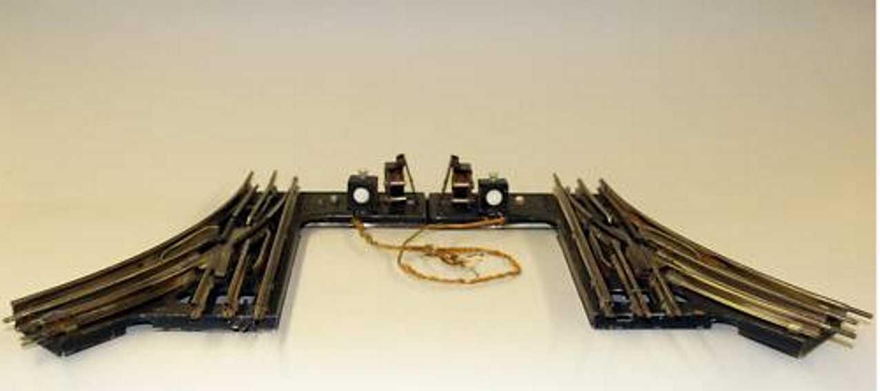 maerklin 13620 EMBW spielzeug eisenbahn elektromagnetisches weichenpaar