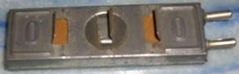Märklin 13626/0 Anschlußplatte