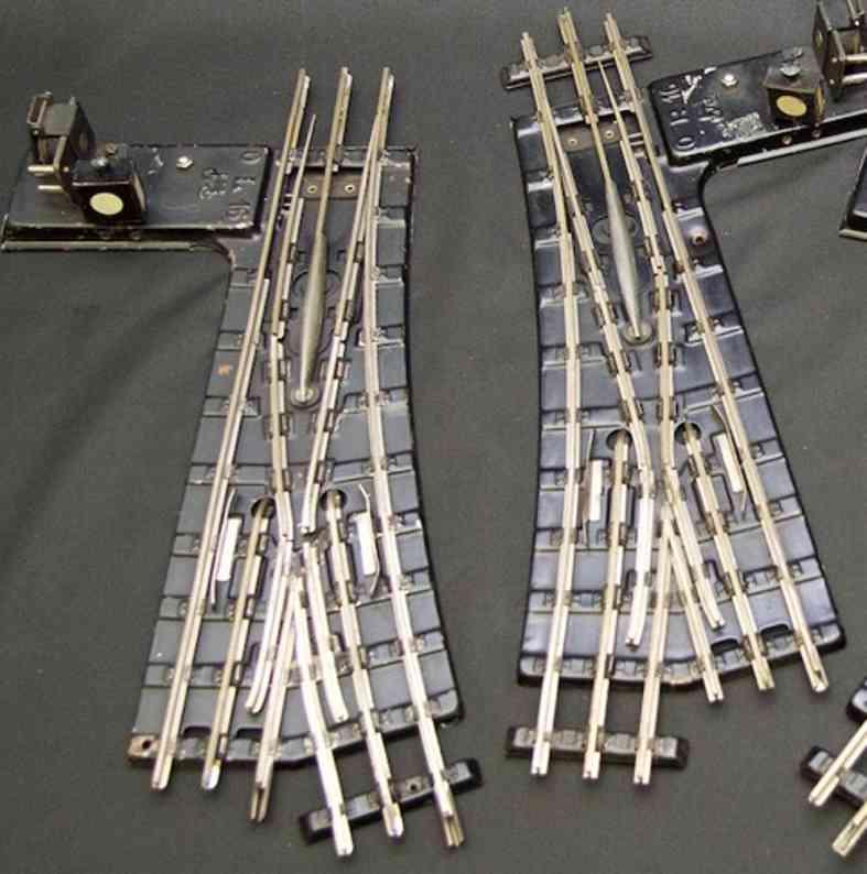 maerklin 13630 emw spielzeug eisenbahn elektromagnetisches modellweichenpaar mit imitierten laterne