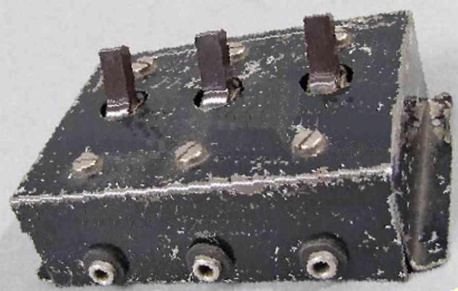 Märklin 13721 Schaltplatte mit drei Schaltern