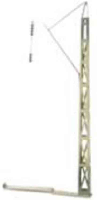 marklin maerklin 2404 railway toy catenary mast #2404, hand painted in greengray, without func