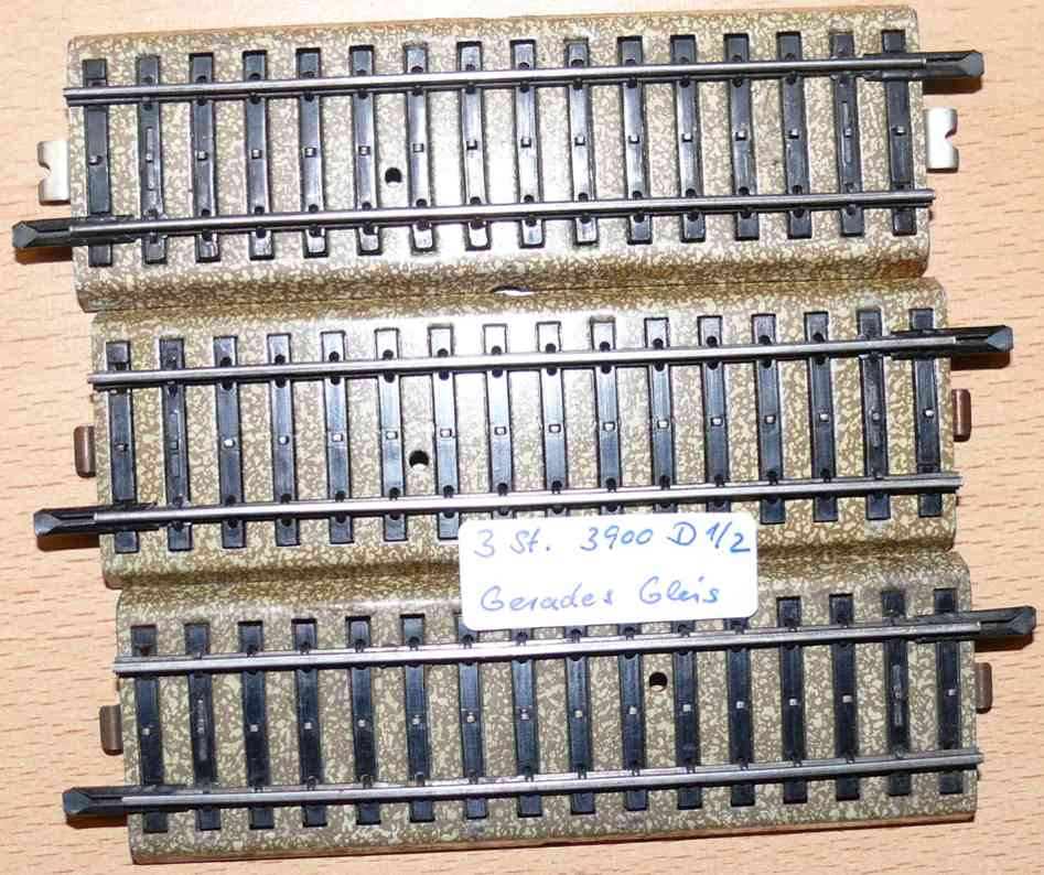 Märklin 3900 D 1/1 gerade Schienen