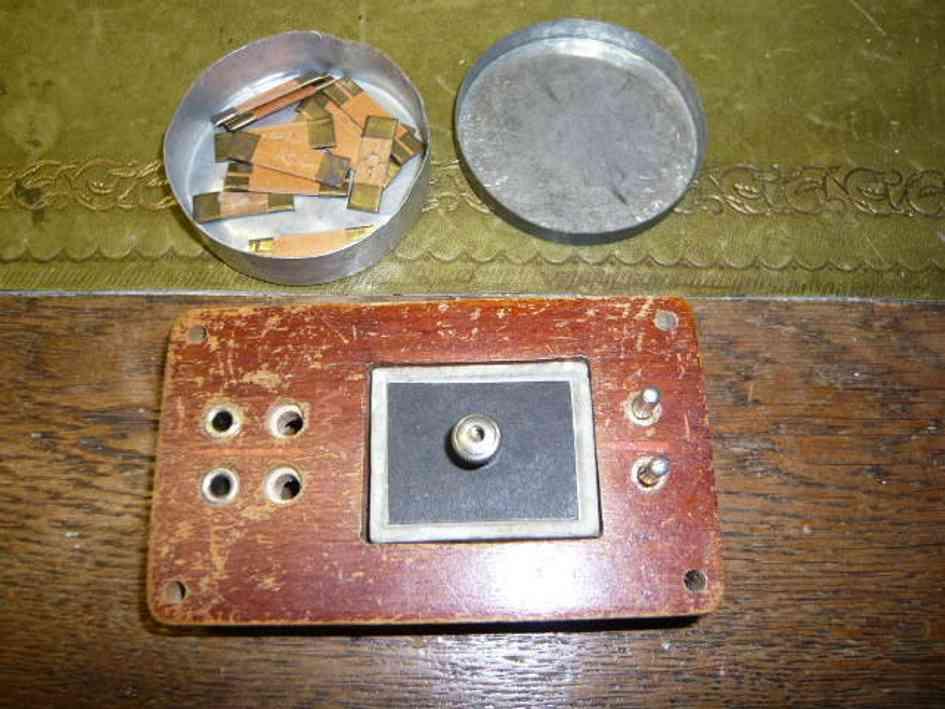 marklin 5502/1342 railway toy transformer fuse box