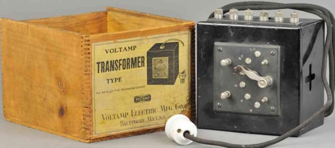 voltamp spielzeug eisenbahn transformator