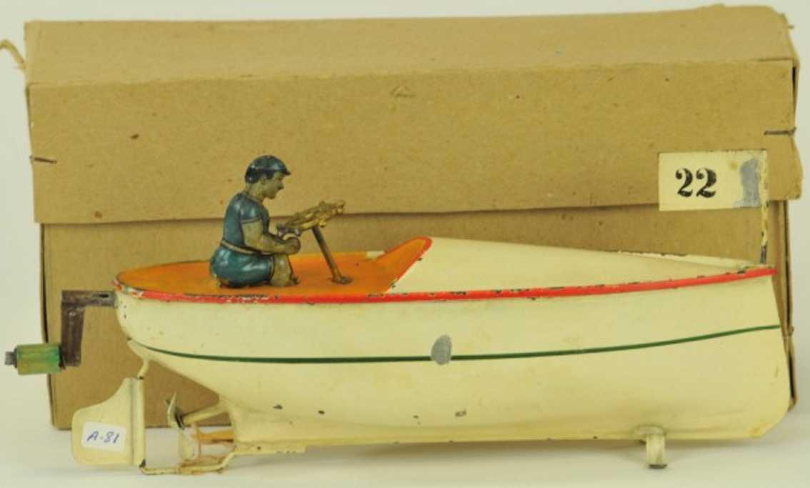 Arnold 1000/1 Rennboot Schnellboot