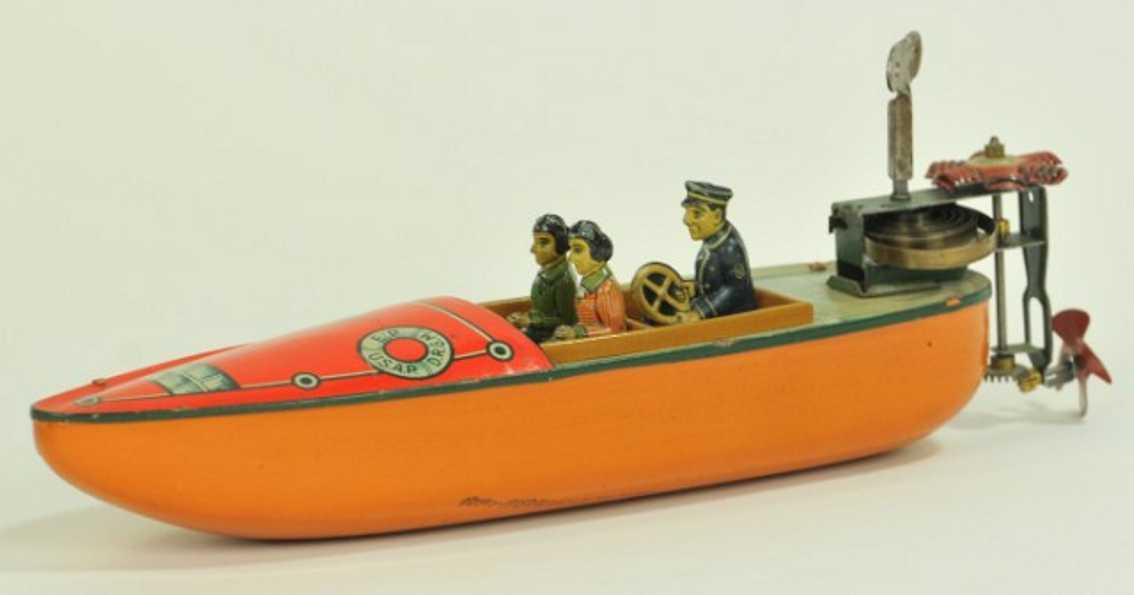Arnold 1625 Boot mit Außenbordmotor