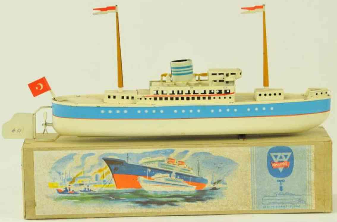 arnold 2020/30 blech spielzeug schiff passagierdampfer