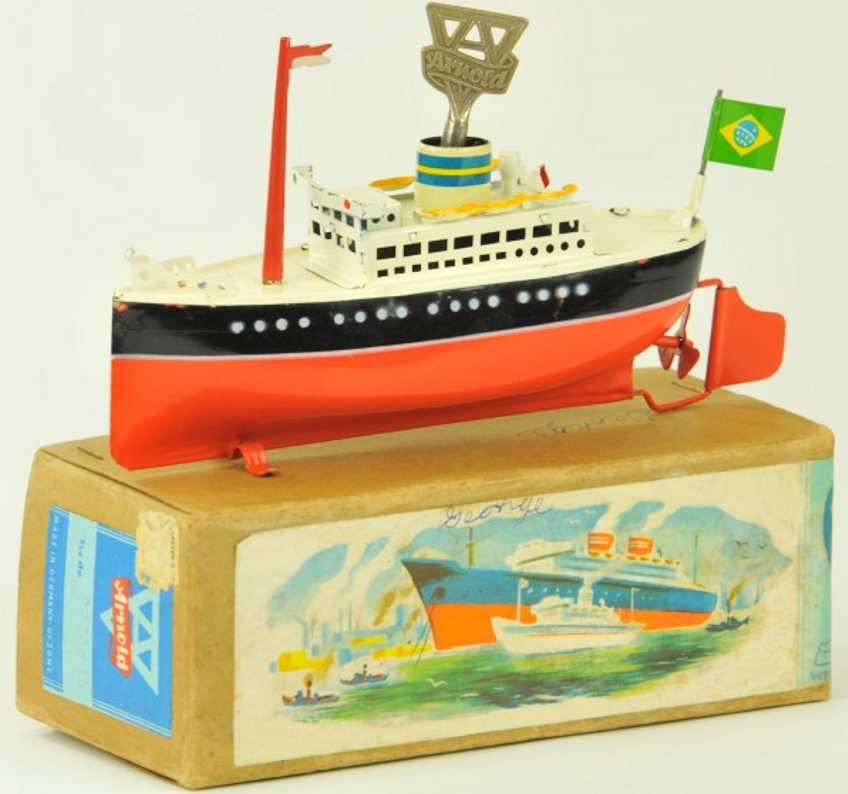 arnold 2025/16 blech spielzeug schiff ozeandampfer