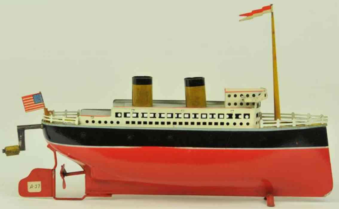 arnold 2025 blech spielzeug schiff ozeandampfer