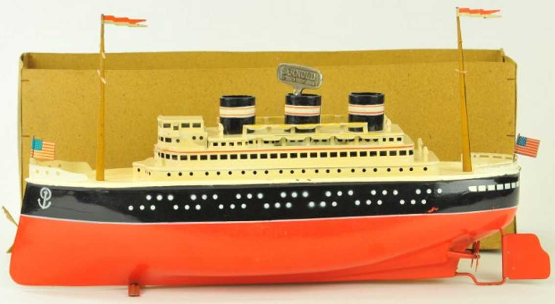 arnold 2025/42 blech spielzeug hochseeschiff