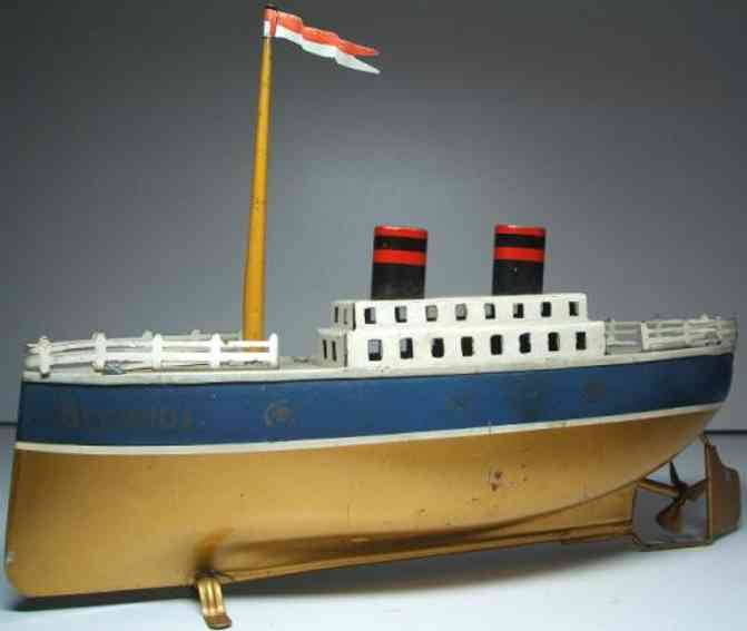 arnold 700/0 tin toy ship liner