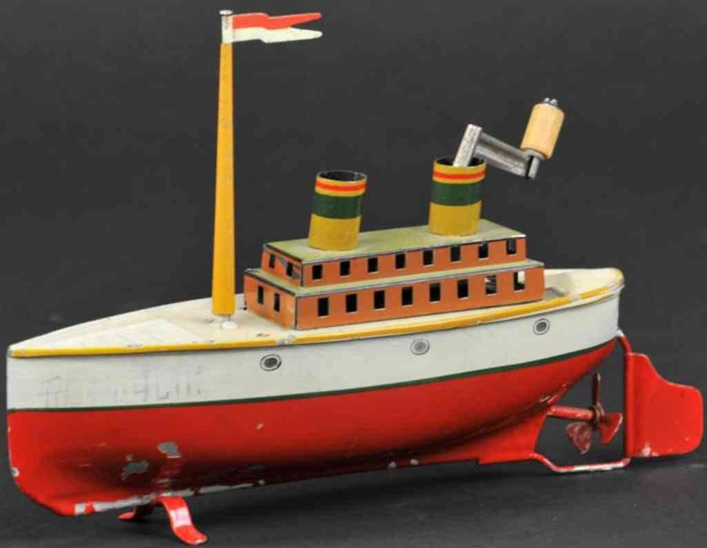 arnold 700/00 tin toy ship liner