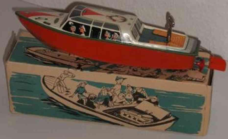 arnold 1940 rennboot blech spielzeug