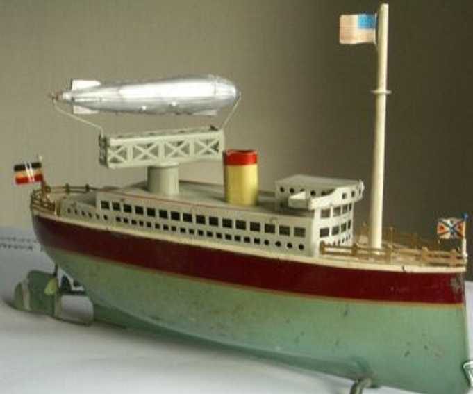 arnold tanker blech spielzeug doppelschraubenschiff uhrwerk