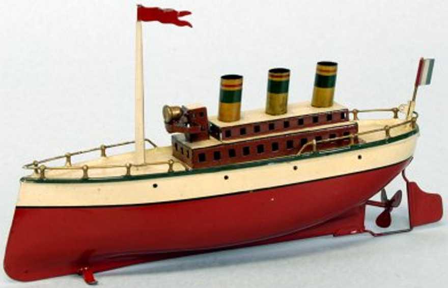 arnold blech spielzeug dampfschiff
