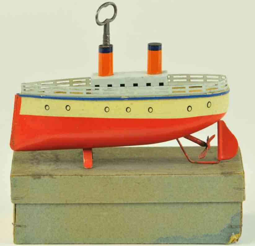 bing 10/335/1 blech spielzeug schiff ozeandampfer